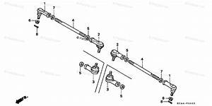 Honda Atv 1994 Oem Parts Diagram For Tie Rod
