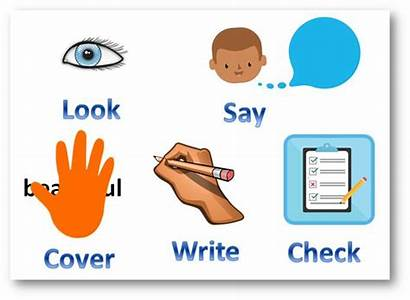 Write Spell Say Check Learning Visit