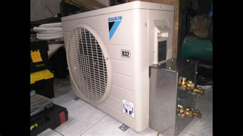 Cara Modifikasi Ac 1 Outdoor 2 Indoor by Proses Modifikasi Outdoor 1 5pk Dan 1pk Plus Water Heater