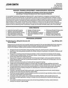 general manager resume sample template With executive resume service