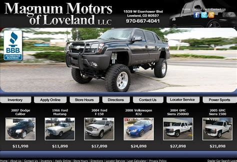 Boat Shop Fort Collins by Magnum Motos Of Loveland Deleted2 Car Dealership Fort