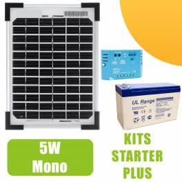 Panneau Solaire Avis : kit panneau solaire mono 5w 12v avec r gulateur 5a et ~ Dallasstarsshop.com Idées de Décoration