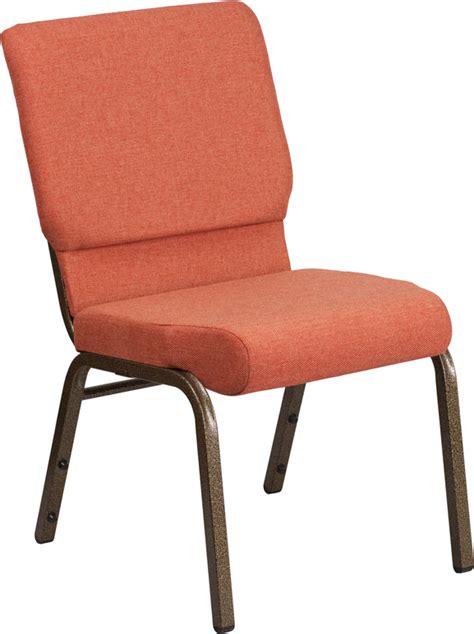 church chairs 4 less hercules series 18 5 w stacking church chair in cinnamon