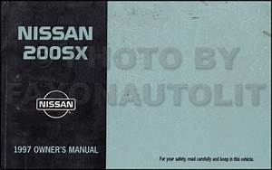 1997 Nissan Sentra  200sx Repair Shop Manual Original
