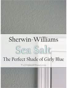 bathroom ideas paint colors sherwin williams sea salt the shade of girly blue