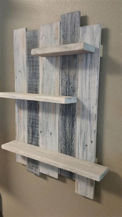 Wood shelving. Beach. Kitchen shelving. Bathroom shelving