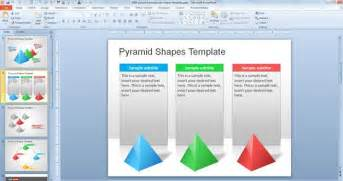 powerpoint design free free pyramid powerpoint shapes template