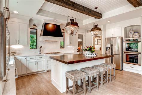 cottage style kitchen island 5 laminates for a unique farmhouse kitchen