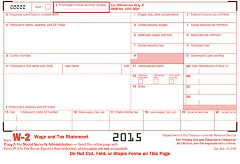 how to get 2015 w2 form understanding your tax forms 2016 w 2 wage tax statement