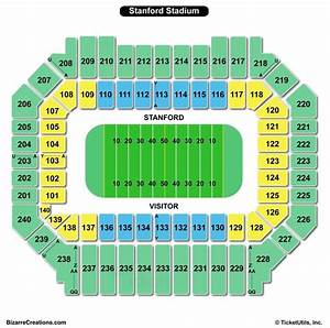 Stanford Stadium Seating Charts Views Games Answers