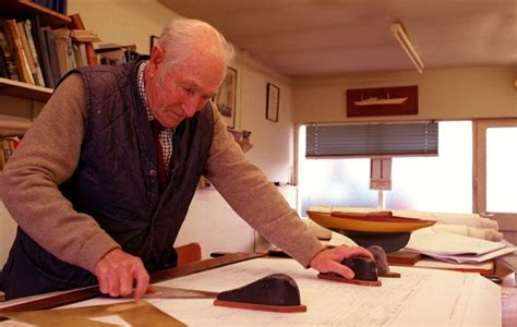 alan buchanan naval architect dies yachting world