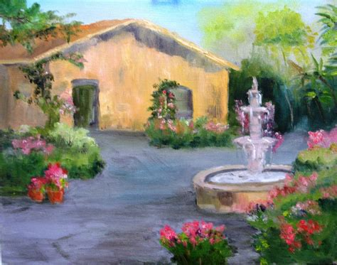 The Cottage Painting by Paint Along With Larry Hamilton May 15 2013