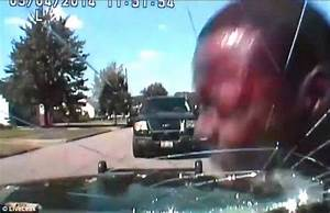 Dashcam footage shows police slamming black suspect's head ...