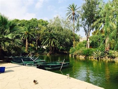 Nearest Boat Rental by Boat Rentals Picture Of Parc De La Ciutadella Barcelona