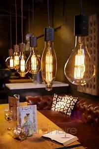 Suspension Ampoule Vintage : suspension calex cr ez votre luminaire avec des ampoules led xxl ~ Teatrodelosmanantiales.com Idées de Décoration