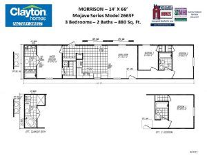 clayton mobile home floor plans single wides taraba home review