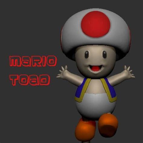 Download Stl Files Super Mario Toad ・ Cults