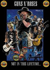 Guns N Roses Poster Not In This Life By Guarike On DeviantArt