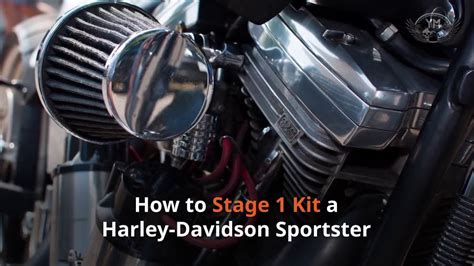 How To Stage 1 Kit A Harley Davidson Sportster