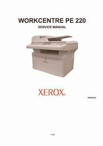 Xerox Pe220 Service Manual Pdf Diagramas De Impresoras