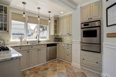 raised kitchen floor antique white kitchen cabinets design photos designing 1713