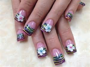 Nails switc flower nail art tutorial