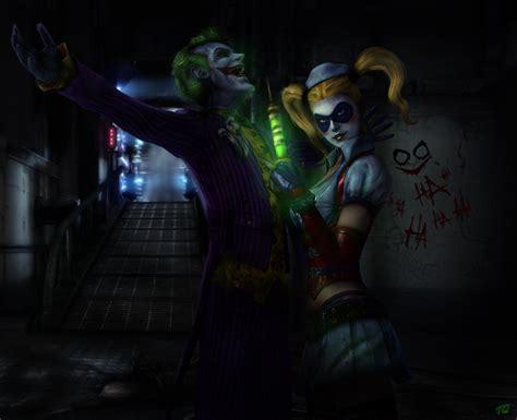 Joker And Harley By Toxicquinn On Deviantart