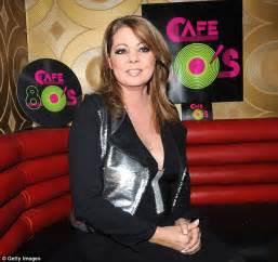 German singer Sandra topples over amplifier after roadie ...