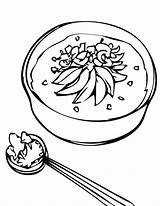 Clipart Soup Coloring Rice Porridge Pages Stone Chicken Clip Cliparts Goldilocks Eating Line Printable Congee Nutrition Library Drawings Getcolorings Popular sketch template