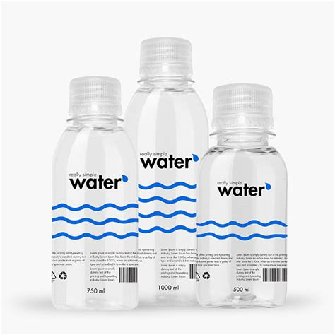 Free mockup of a plastic bottle with a direct download link & a full tutorial on how to make your own mockup. Packreate » Bundle - Distilled Water Plastic Bottle PSD Mockup