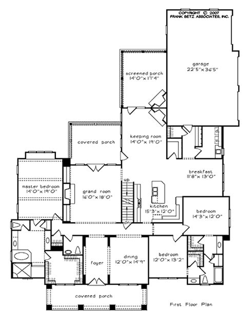 meyerswood home plans and house plans by frank betz associates