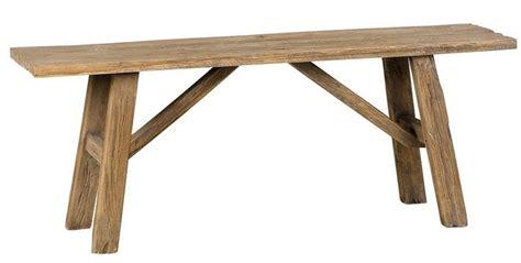 leenbakker houten bank houten krukjes meubel ideeen en houten bankjes