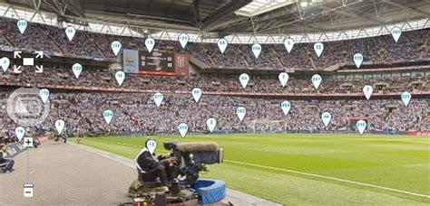 stunning  degree panorama  wembley stadium  fa