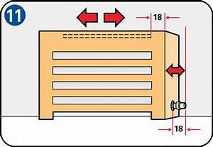 Fabriquer Un Cache Radiateur : comment fabriquer un cache radiateur bricobistro ~ Melissatoandfro.com Idées de Décoration