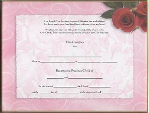 pet fish birth certificate pet birth certificate word With blank adoption certificate template