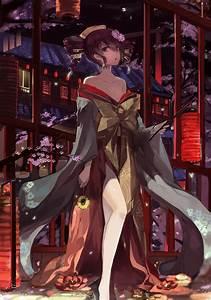 Anime, Girls, Traditional, Clothing, Anime, Utao, Kasane, Teto, Wallpapers, Hd, Desktop, And, Mobile