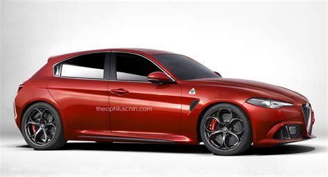 Next-gen Alfa Romeo Giulietta Rendered Based On Giulia