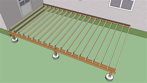 Deck Joist Spacing Nz by Deck Beam And Joist Span Tables Deck Design And Ideas