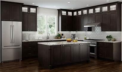 Cabinets Espresso Kitchen Cnc Elegant Concord Kitchens