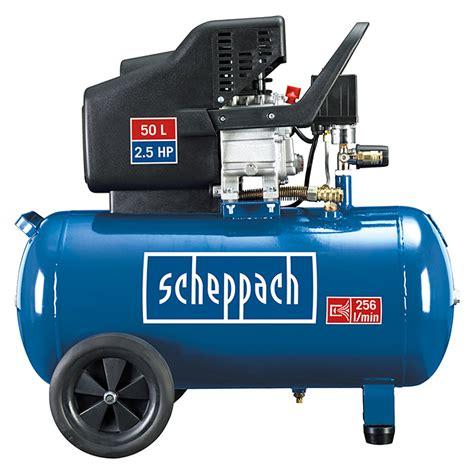 scheppach kompressor hc51 10 bar 1 5 kw kesselinhalt 50 l 2331 kompressoren