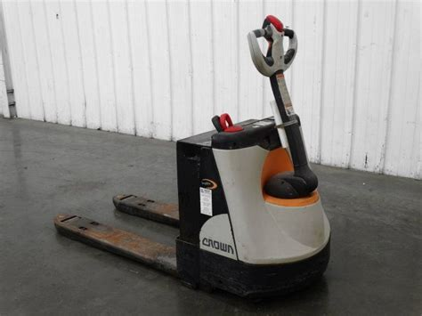 Used Crown Wp 2300 Battery Powered Pallet Jack