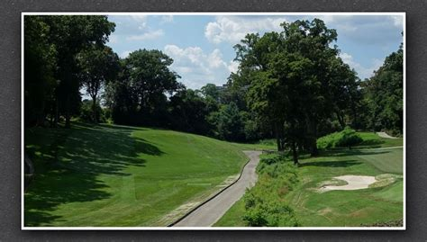 #3. Downhill, dogleg right par 4 (316 yards).