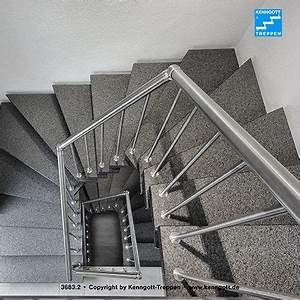 Granit Geflammt Und Gebürstet : kenngott treppe verdi stufen graphitblack freitragende kenngott treppe 2x1 4 gewendelt stufen ~ Markanthonyermac.com Haus und Dekorationen
