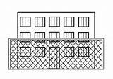 Prison Coloring Coloriage Fengsel Para Gevangenis Kleurplaat Colorear Dibujo Malvorlage Bilde Fargelegge Prision Gefaengnis Dibujos Dessin Pages Ausmalbilder Zum sketch template