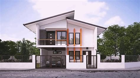 Simple Modern House In The Philippines