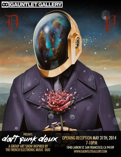 Daft Punk Art Show Showcases French Duo In New