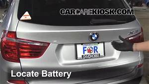 Battery Replacement: 2011-2016 BMW X3 - 2013 BMW X3