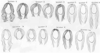 Rachel Friends Wikia Evolution Hairstyles Rachels Hairdoes