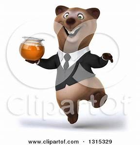 Royalty-Free (RF) Business Brown Bear Clipart ...