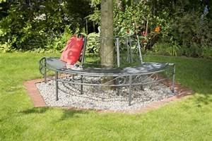 Sitzbank Für Garten : greemotion baumbank toulouse aus metall gartenbank ~ Articles-book.com Haus und Dekorationen